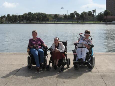 Harriet, Robin Stephens and Laura Hershey