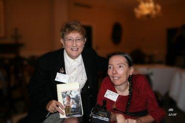 Receiving the Jean Bissell Award, 2005