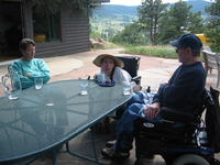 Visiting Barry Corbet on Lookout Mountain