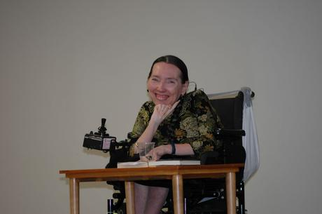 Harriet reading at Ryerson University in Toronto, Canada, May 2007
